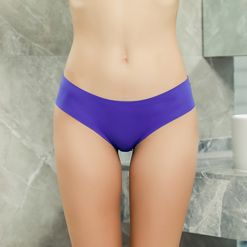 Low-Rise Seamless Panties 3 Pieces Pack Underwear 6 Colors 3