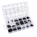 Brand New Tool 18 Sizes 225 x Rubber O Ring O-Ring Washer Seals Assortment Black Standard O Ring for Car Auto