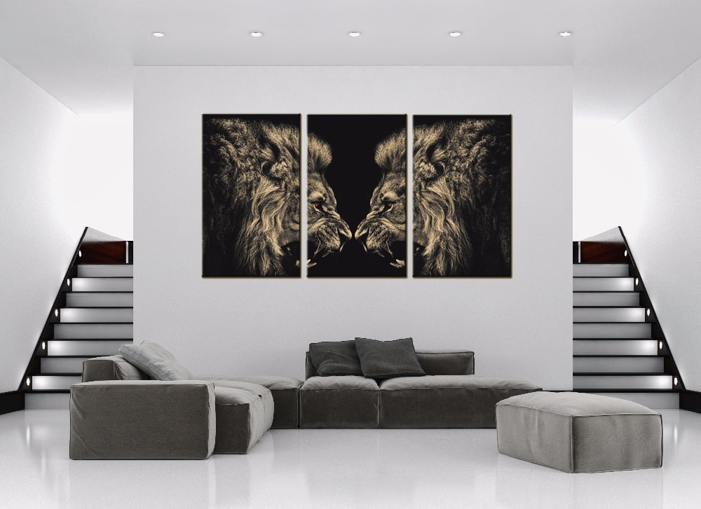 Aliexpress Com Buy Unstretched Modern Home Decor Canvas Painting