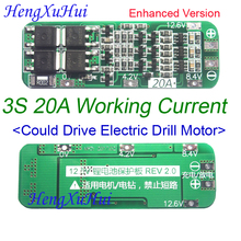 3S 20A Li-ion Lithium Battery PCB Protection Board 12.6V AUTO Recovery (Standard Enhanced Version Optional) детектор валют mercury d 20a flash pro lcd с li ion