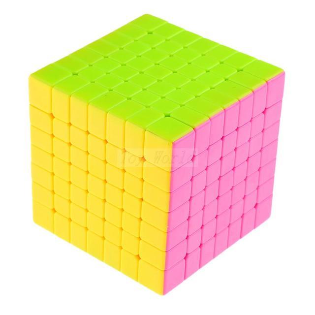 YJ Yongjun MoYu Aofu GT 7x7x7 Velocidad Cubo mágico Stickerless Cubo Mágico Puzzle Cubos Cuadrados kub Juguetes buen regalo