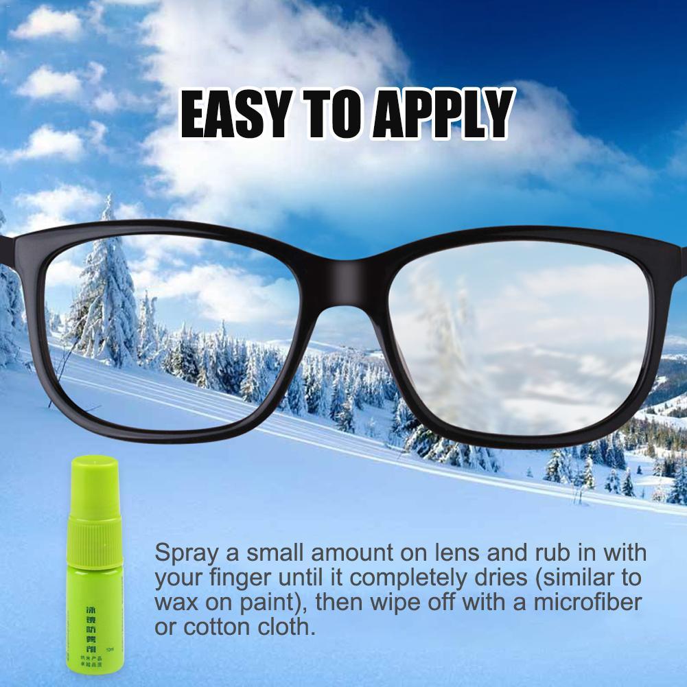 Solid State Defog Anti Fog Agent For Swim Goggles Glass Lens Diving Mask Cleaner Solution Antifogging Spray Mist