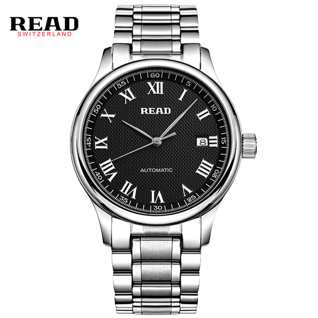 READ watch business men's watch automatic mechanical watches men's watches 8003