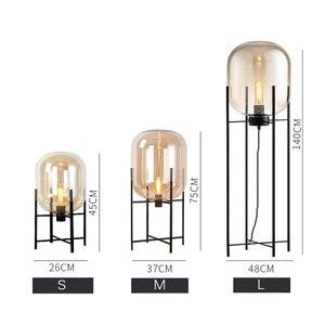 Image 3 - Post modern Nordic simplicity Floor Lamps LED lights vloerlamp stand lamp standing lamp Living room Bedroom Restaurant