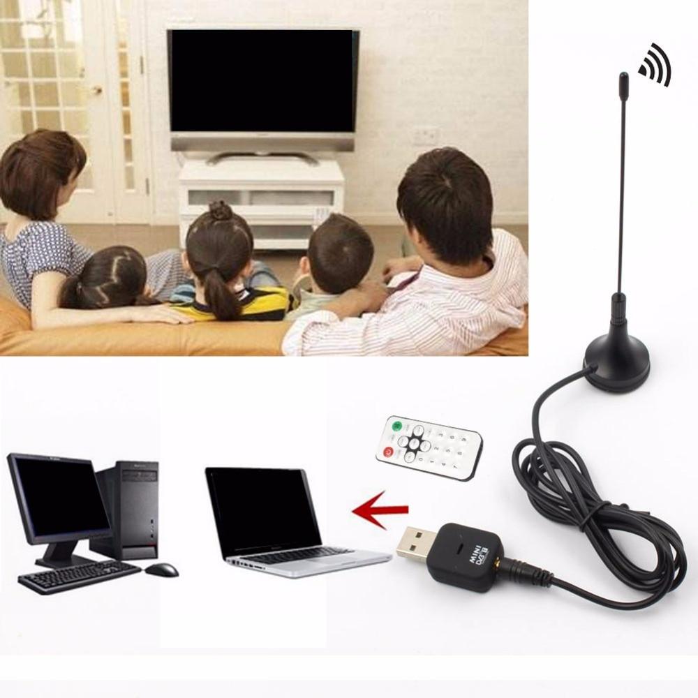 Mini USB DVB-T Digital TV HD Receiver Tuner Stick OSD MPEG-24 For Laptop PC
