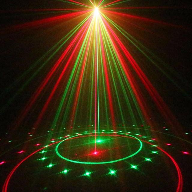 ZjRight IR Control Red Green 20 Renderings Laser Light Outdoor Waterproof IP65 laser projection lamp Bar DJ party stage lighting