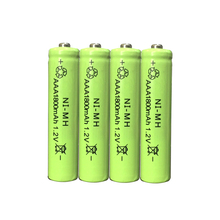 купить 4pc a lot Ni-MH 1800mAh AAA  Batteries 1.2V AAA Rechargeable Battery NI-MH battery for camera,toys etc-PKCELL дешево