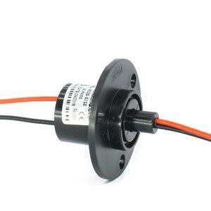 26 мм 2 электрические провода 10А капсульное кольцо скольжения для ветрового твердого провода турбинного генератора