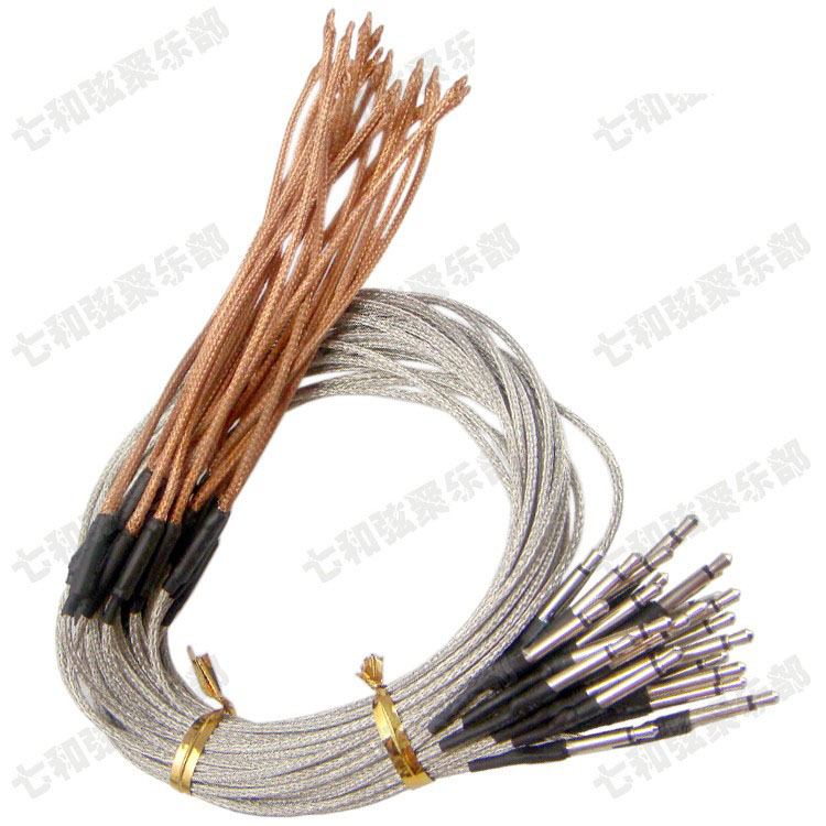 10 Pcs Acoustic Guitar Under saddle Cable Piezo Pickup For EQ Transducer Sensitivity Piezo Bridge Pickup
