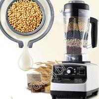 Liquidificador comercial 1200 w 220 v juicer comida misturador de frutas comercial máquina de leite de soja moído fresco espremedor 767l
