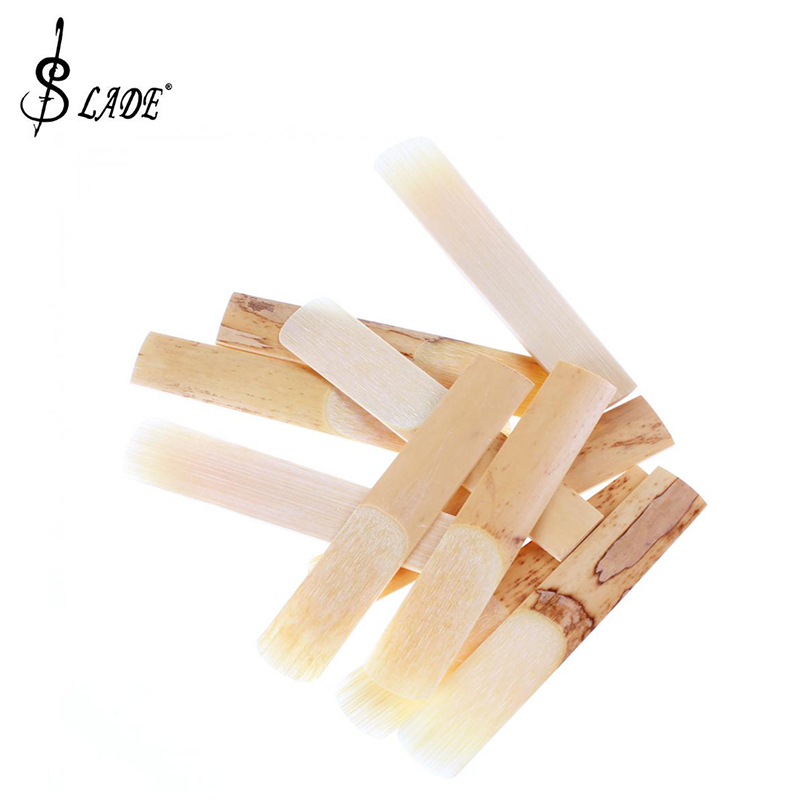 Slade 10pcs Clarinet Reeds Bamboo For 2 1/2 Size Clarinet Parts Accessories