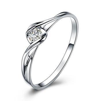 18K Gold Luxury Lover's Couple Diamond Wedding Bands 2