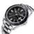 Los hombres de moda curren de la marca de diseño hombres de negocios masculino deporte reloj militar casual de lujo de acero de pulsera de cuarzo reloj de regalo de lujo 8110