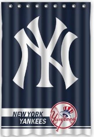 Free Shipping New York Yankees Shower Curtain Bath Curtain High ...
