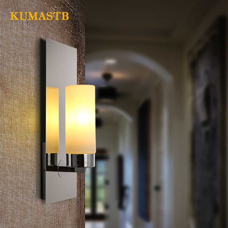 Modern Minimalist Bedroom Bedside Light Nordic Hotel Aisle Corridor Wall Sconce Creative Candlestick Wall Lamps solid wood wall light bedroom lamp bedside lamp modern minimalist aisle corridor entrance staircase wall sconce