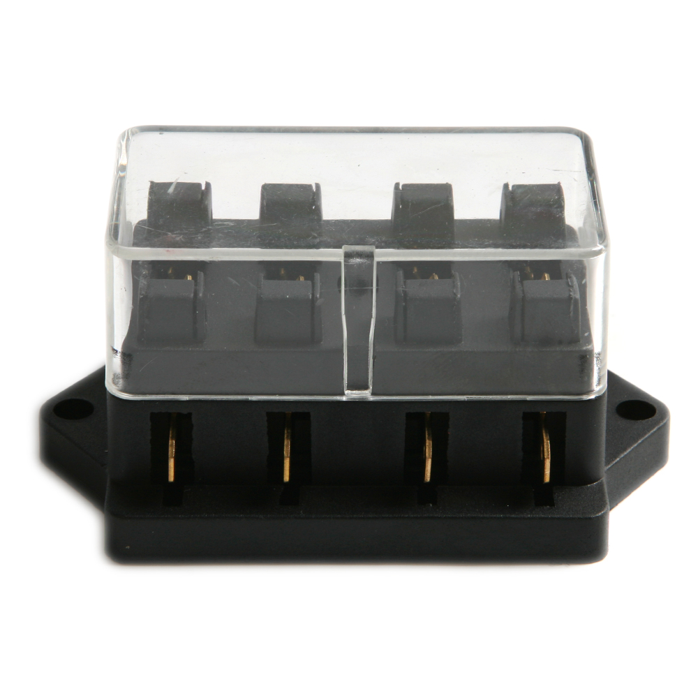 Small Universal Fuse Box Electrical Wiring Diagrams Car 1pcs Blade Holder 4ways Ignition Switch