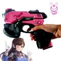 DIY 1:1 3D Головоломка Бумаги D. Va Косплей Пистолет Косплей Реквизит оружие Игрушки Корабля Бумага Gun Опора для d. ва Костюмы Зентаи боди