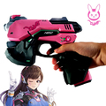 DIY 1:1 3D Puzzle Paper D.Va Cosplay Gun Cosplay Props Weapon Craft Toy Paper Gun Prop for d.va Costumes Zentai Bodysuit
