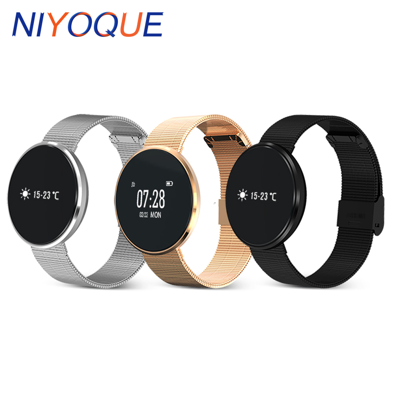 NIYOQUE B10 Bluetooth Smart Band Health Wrist Bracelet Blood Pressure Oxygen Heart Rate Monitor Sports Band