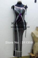 New Arrival, KAKA-L130354, Latin dance wear,tango salsa samba rumba chacha waltz dance suit,girl child latin dance dress