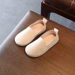 Детская обувь для девочек осень модная дышащая искусственная кожа принцесса обувь для девочек платье обувь От 1 до 3 лет новый