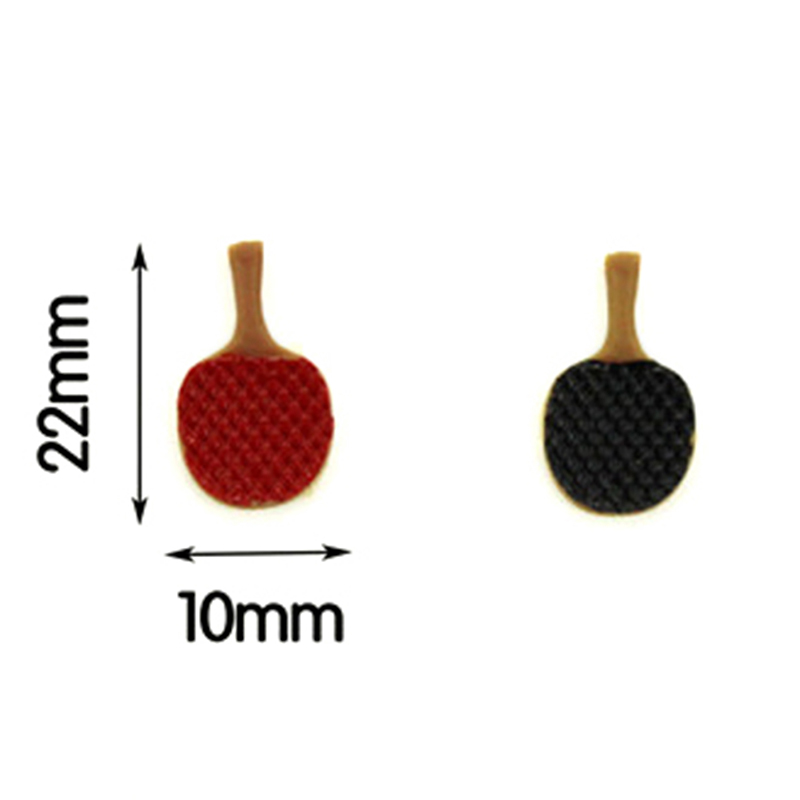 1:12 Miniature Ping Pong Paddle Set Dollhouse Diy Doll Accessories House G7Z0