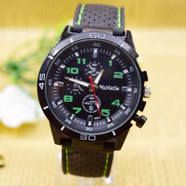 Fashion Brand Casual Silicon Luxury Watch Men Sport Analog Quartz Unisex Mens Wristwatch Relogios Masculinos Clock Quartz Watch
