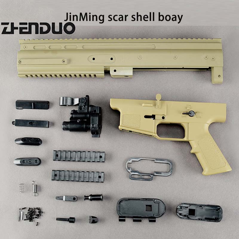 Zhenduo Toy Airsoft air gun Gel ball Guns Jinming the shell of the main body water bullet gun accessories outdoor sports hobbies zhenduo toy xm316 split gun body toy gel ball gun accessories free shipping