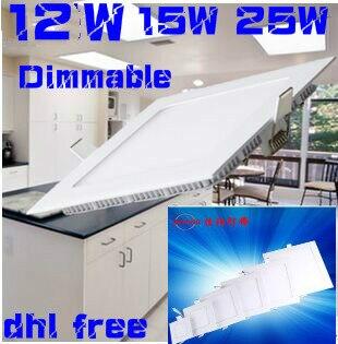 3W 4W 6W 9W 12W 15W 25W AC110V-220V Ανώτατο όριο LED - Εσωτερικός φωτισμός - Φωτογραφία 1