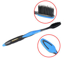 Wholesale Cheap 4Pcs/Pack Double Ultra Bamboo Toothbrush Bamboo Charcoal Nano Toothbrush of Dental Oral Care Soft Brush Adults