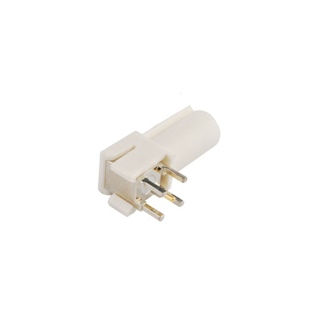 Connecteur PCB à Angle droit SMB Code B   Connecteur mâle RF, montage à Angle droit, blanc/9001 pour lautoradio avec antenne fantôme