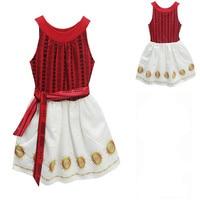 Baby Girls Dress Autumn Summer Elsa Anna Kids Dresses For Girls Clothes Vestiods Moana Vaiana Christmas