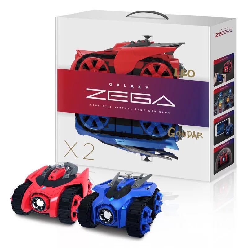все цены на Galaxy ZEGA 2 In 1 RC Tank Fighting RC Car Bluetooth Smart Remote Control with Phone Virtual Battle Games Boys Gift онлайн