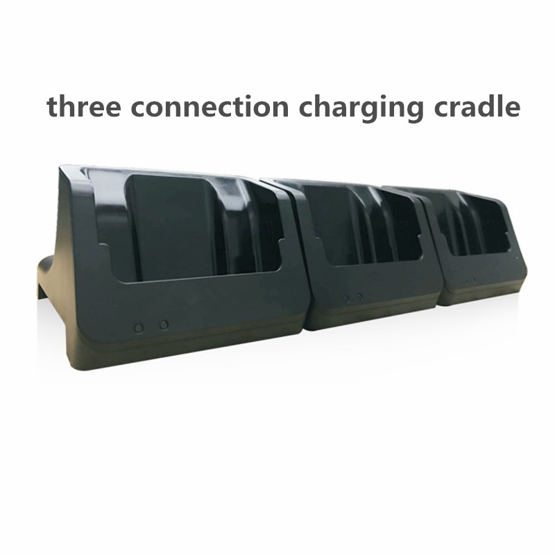 Three Connection Charging Cradle for LS5S / LS550S series handheld terminal charging docking cradle for casio dt 930 dt 940 data hand held terminal base
