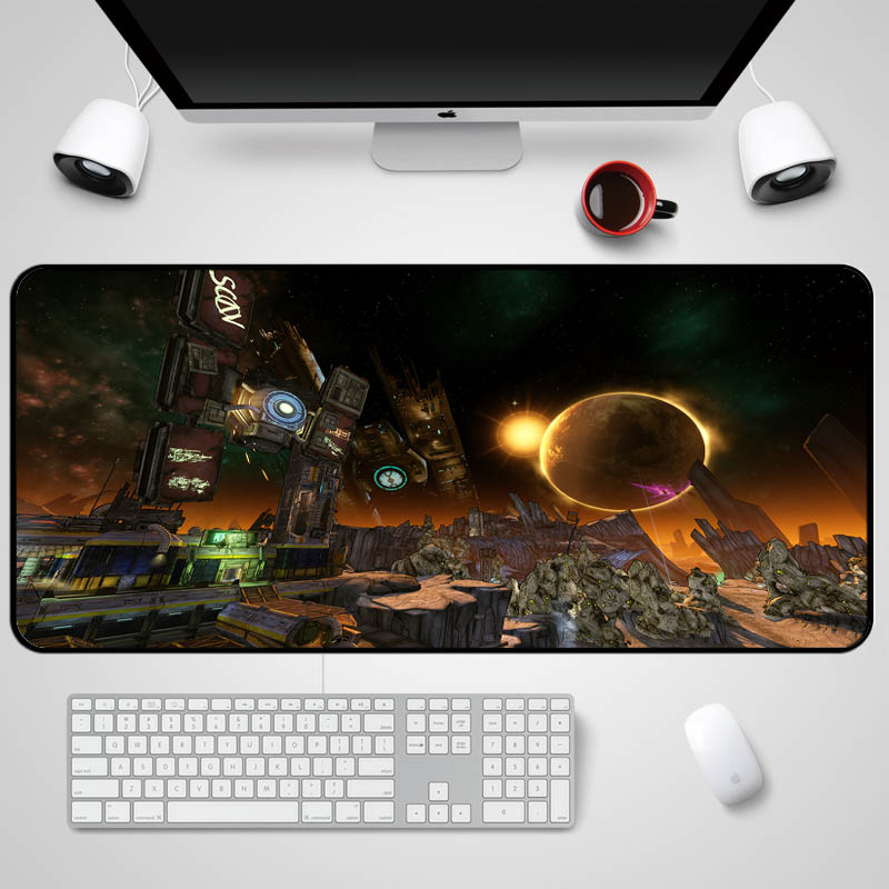 Mairuige The Videogame Borderlands 2 Pandora Plant Scenery Mousepad Pc Game Player Gamer ...