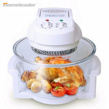 Multi-functional Electric Convection Oven Light Wave Oven Cooking Mechanical Toaster Oven For Chicken Vegetables Homeleader