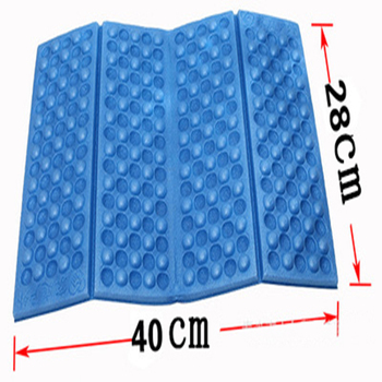 Outdoor Camping Mat Foldable Beach Mat Seat Moisture proof XPE Portable Cushion Waterproof  Mattress Foam Pads Yoga Picnic Mat
