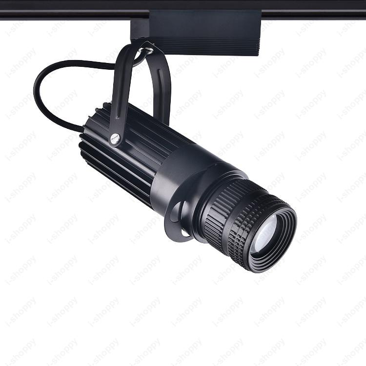 3W/5W/7W/10W/15W/20W LED COB Ceiling Light Fixture Track Rail Spotlight Picture Focus Lamp Adjustable Aperture Teahouse KTV Bar