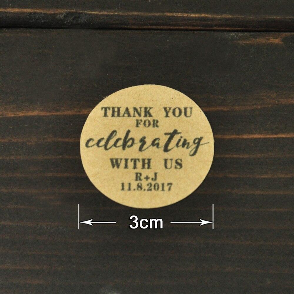 Aliexpress Buy Wedding Favor Stickerspersonalized Wedding