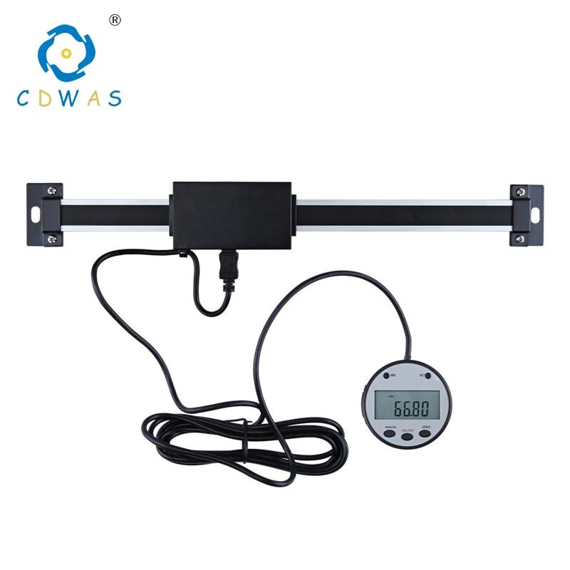 0-150mm/0-200mm/0-300mm 0,01mm Magnetic Digital Anzeige digital linearen skala Externes Display Elektronische Waage Einheit