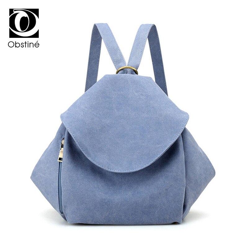 Designer Fashion Canvas Backpack Women School Backpack for Teenage Girls Multifunction Rucksack High Quality Shoulder Bag Womens