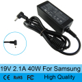 19V 2.1A laptop AC power supply adapter charger for Samsung NP900X3C NP900X4C NP900X3A NP900X1 530U3C 535U3C N130 N140 N145 N148