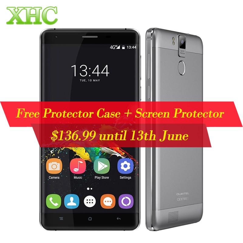 Galleria fotografica OUKITEL K6000 Pro LTE 4G <font><b>Smartphone</b></font> 32 GB 16MP 5.5 ''Android 6.0 MTK6753 Octa Core 1.3 GHZ RAM 3 GB 6000mAh1920x1080 Mobile Téléphone