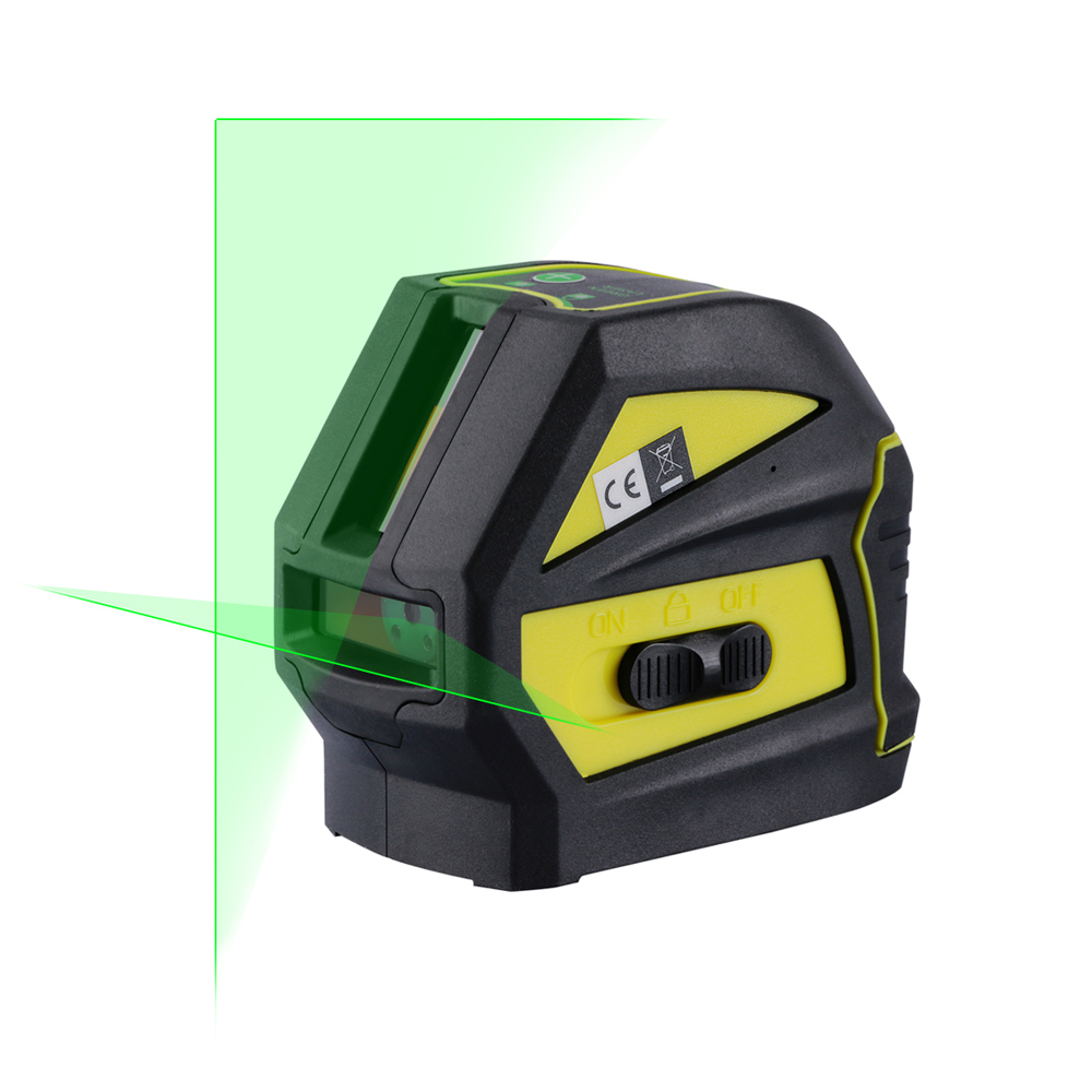 Firecore EK118G 2 Lines Green Laser Level ( Horizontal And Vertical )Cross Laser Line (Self Leveling Within 4 Degrees) WAL52 leran ek 9610k 39 green