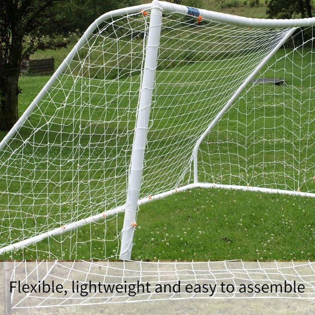 Portable Football Net 2.4 x 1.2M Soccer Goal Post Net Rusia World Cup 2018 Gift Football Accessories Outdoor Sport Training Tool