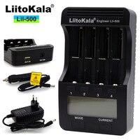 New Liitokala Lii 500 LCD 3.7V 18350 18500 16340 18650 17500 25500 10440 14500 26650 1.2 V AA AAA nik Lithium Battery Charger