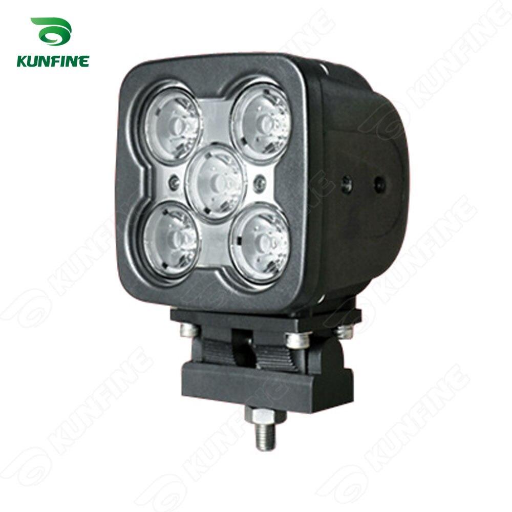 4.3 pouce 50 W LED Travail Lumière 12 V ~ 30 V DC LED Conduite Offroad lumière Pour Bateau Camion Remorque SUV ATV LED Brouillard Lumière Imperméable À L'eau