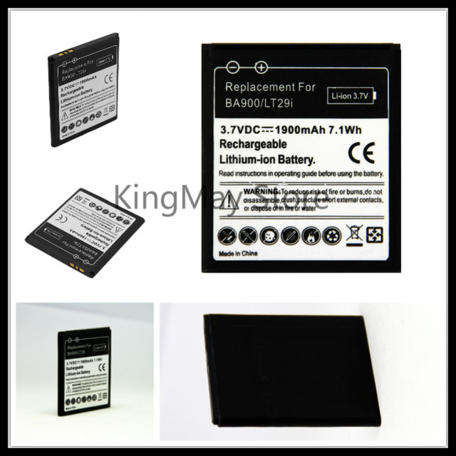 5pcslot Bateria Ba900 Battery For Sony Ericsson Xperia Tx Lt29i