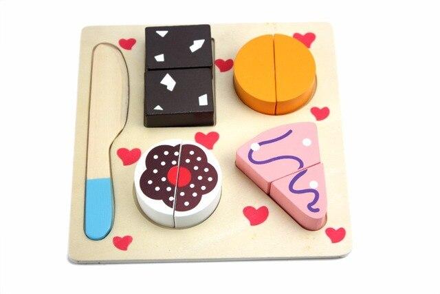 Houten Keuken Speelgoed : Houten keuken speelgoed cut fruit groenten dessert kids koken
