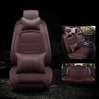 kalaisike leather universal auto seat covers for Renault all model megane clio laguna Captur fluence scenic Koleos duster kadjar